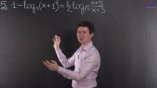 Алгебра, 10 класс | Логарифмические уравнения. Часть 2