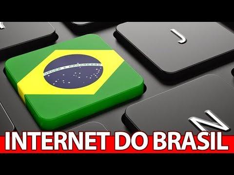 Porque a INTERNET no Brasil é tão RUIM