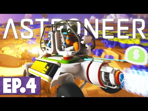Astroneer - Rover Exploration & Wind Power! #4 [Space Survival]