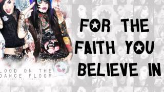 The Right To Love!- Blood On The Dance Floor (Lyrics Video) HD