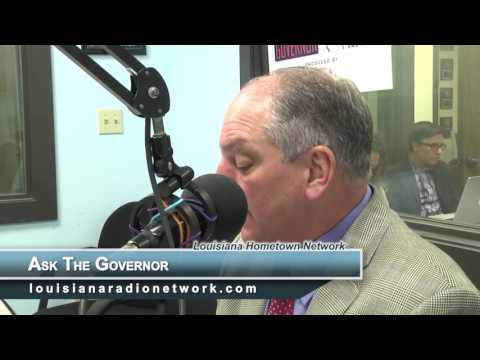 """Ask The Governor"" - Louisiana Radio Network"