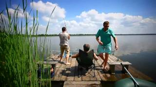Рыбалка на карпа в Украине.