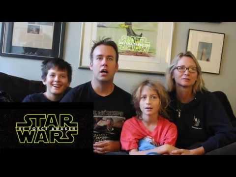 Star Wars The Force Awakens Trailer- Fan Reaction