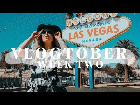 VEGAS WITH MOTEL ROCKS | VLOGTOBER WEEK 2