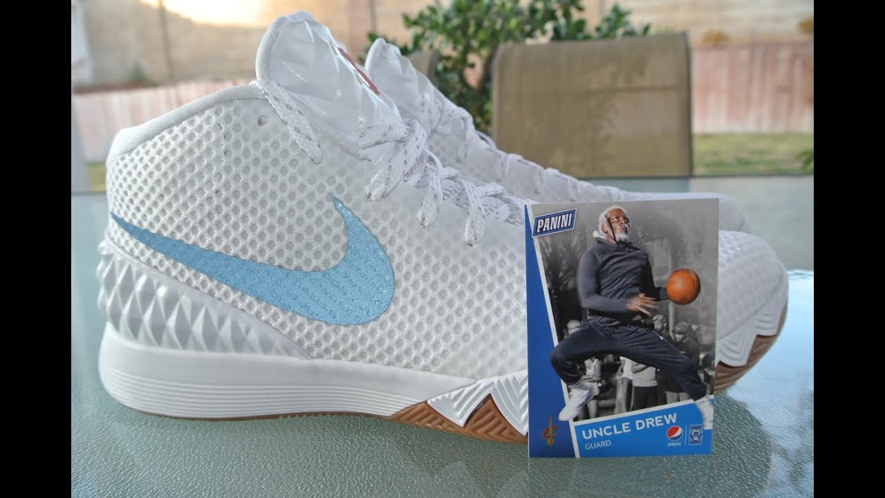 buy online a6222 09b48 KoF Mailbox: Uncle Drew Panini Trading Cards With The Nike Kyrie 1