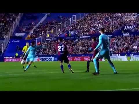 Levante vs Barcelona 5 4   Season 2017 2018   Highlights English Commentary thumbnail