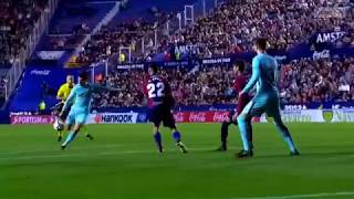 Levante vs Barcelona 5 4   Season 2017 2018   Highlights English Commentary