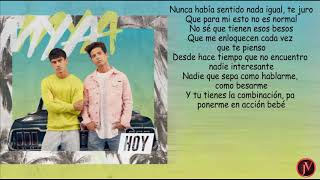 Mya Tu y Yo- LYRICS-LETRA.mp3