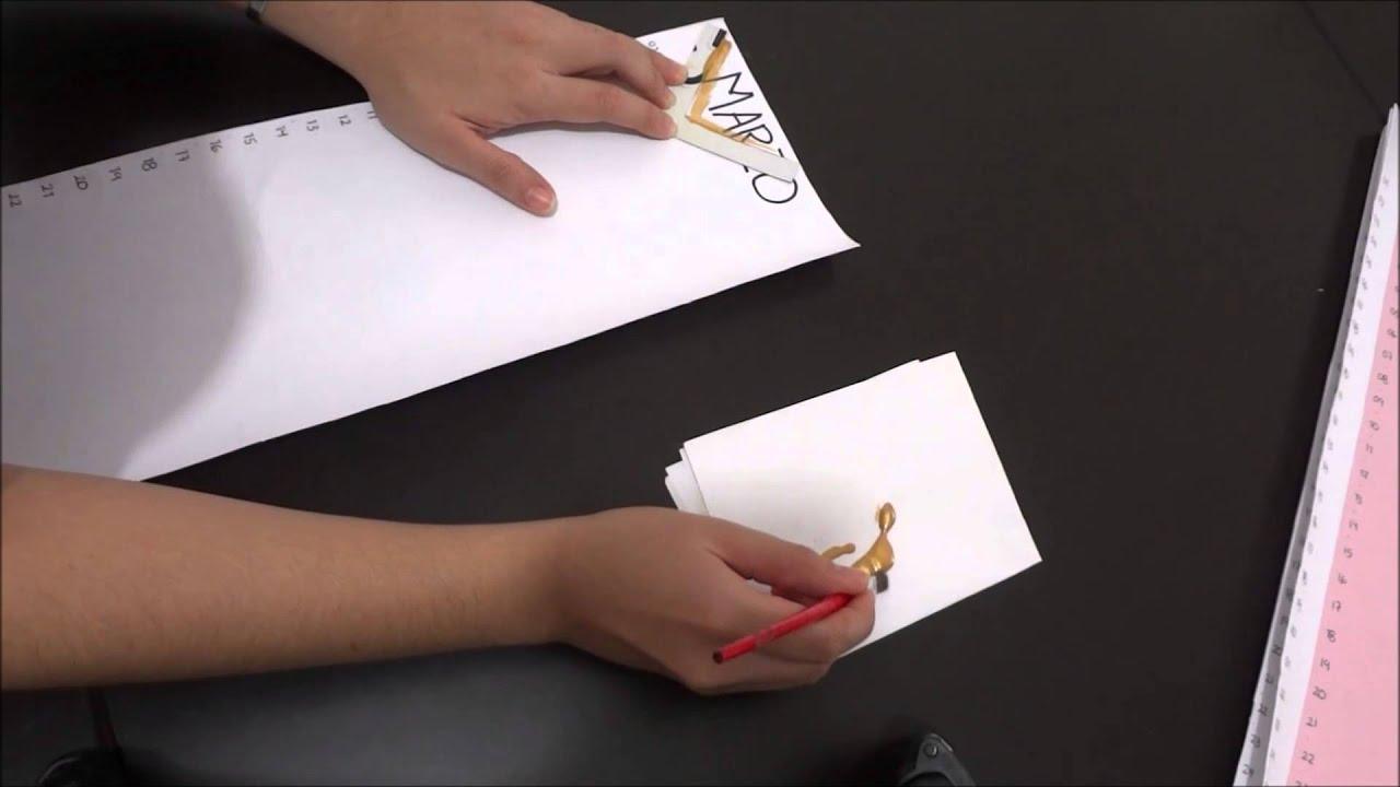 Como hacer un calendario manualidades a mano bonito f cil y rapido youtube - Como hacer un estor enrollable paso a paso ...