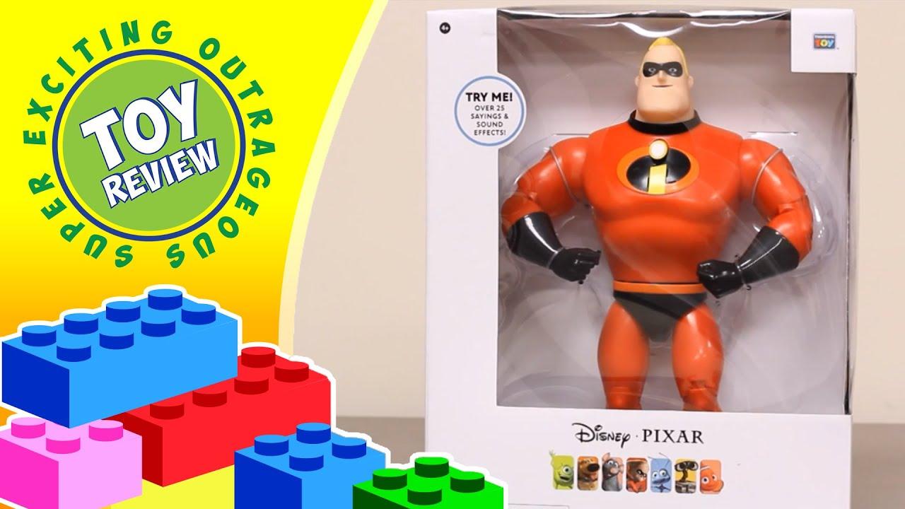 Best Incredibles Toys Reviewed : Disney pixar mr incredible talking superhero the