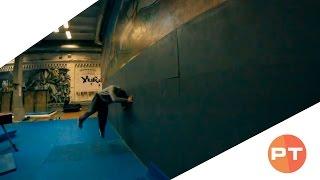 Обучение: рол по стене (Parkour Tricks)