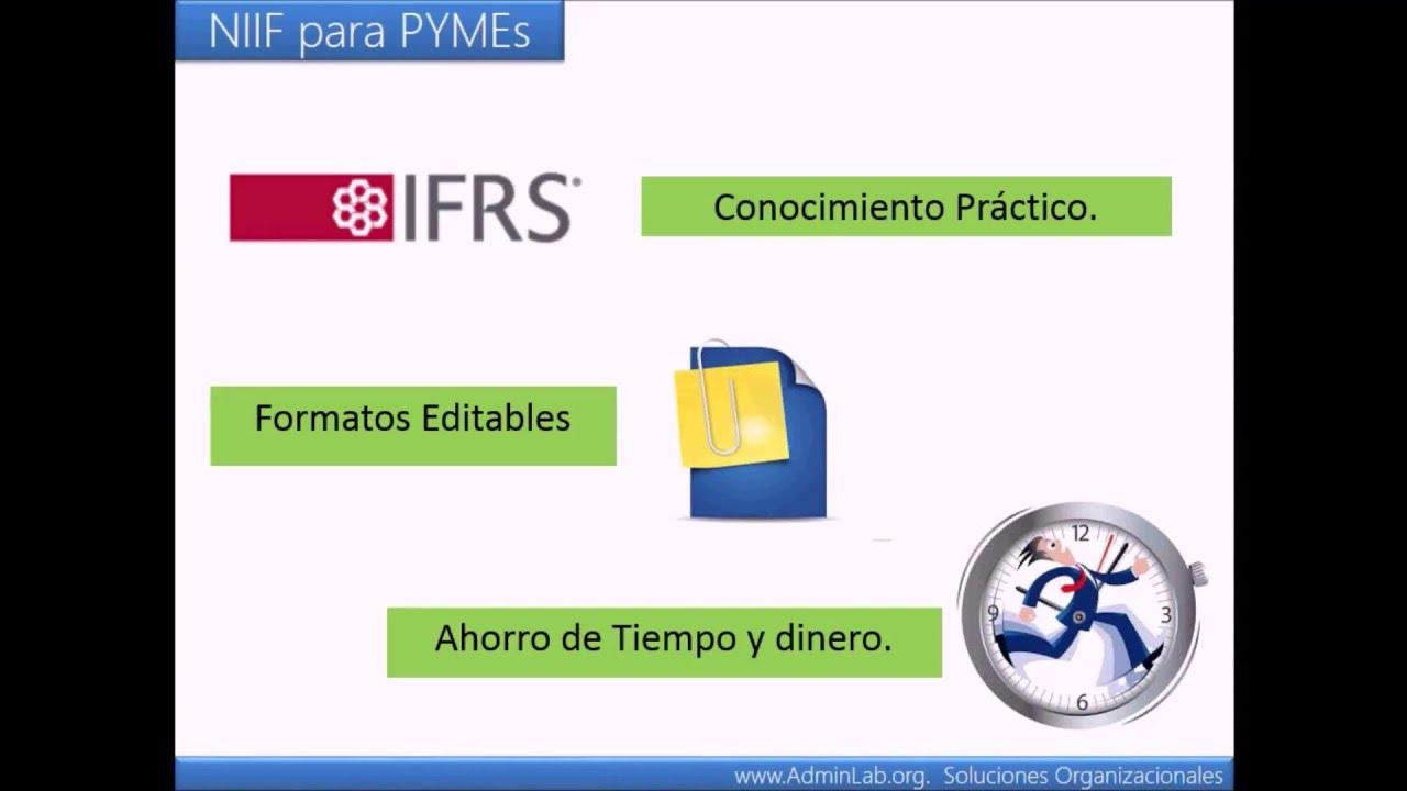 Cómo Crear Políticas Contables bajo NIIF para PYMES - YouTube