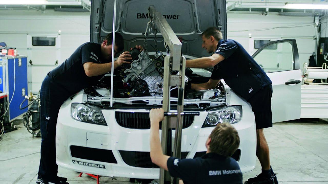 BMW 320si WTCC Development - YouTube