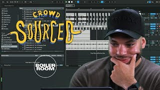 Crazy Cousinz makes beats from sounds you send in | Boiler Room 'Crowdsourced'