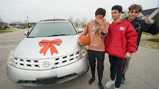 Surprising A Kid Who Gets Bullied With A New Car