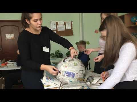Сделать макет глобуса своими руками