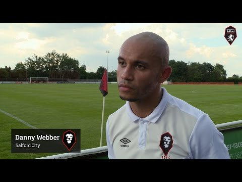 Mickleover Sports 1-2 Salford City - Danny Webber post-match interview 22.08.15