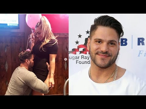Jersey Shore Star Ronnie OrtizMagro & GF Welcome Baby Girl!