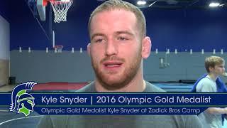 World's Best Wrestler, Kyle Snyder Comes to UP for Zadick Bros Camp