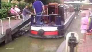 Narrow Canal Boats in Banbury