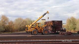 Scrapping Freight Cars