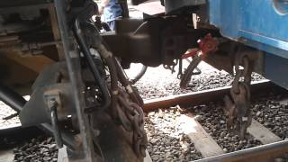 Pelepasan rangkaian KA Purwojaya di Cilacap