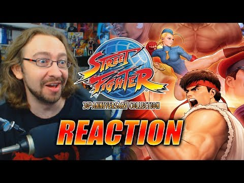 MAX REACTS: 3rd STRIKE IS BACK - Street Fighter 30th Collection Trailer