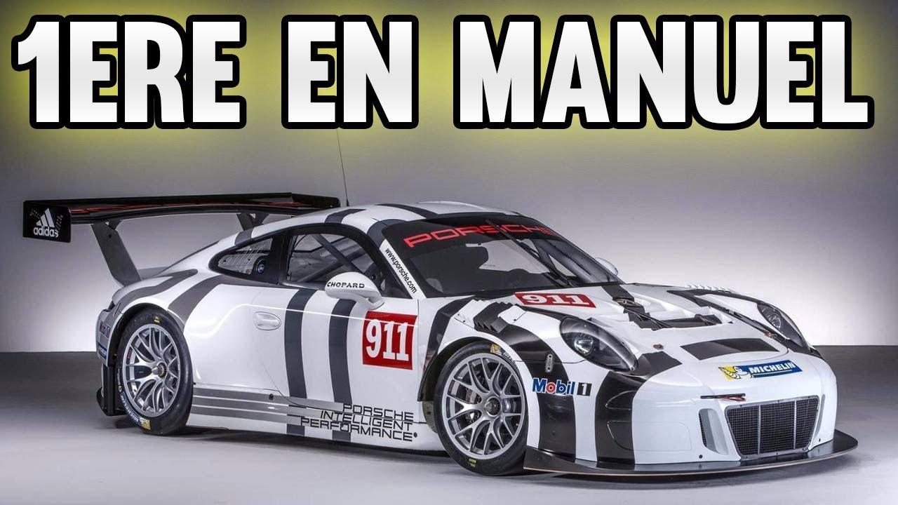1ère COURSE EN MANUEL - GT Sport Online multi Gameplay FR