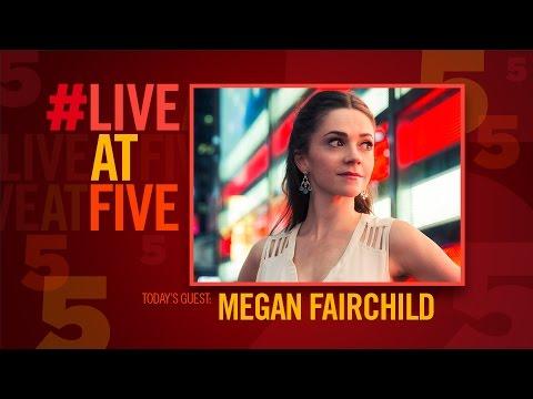 Broadway.com #LiveatFive with Megan Fairchild