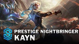 Prestige Nightbringer Kayn Skin Spotlight - League of Legends