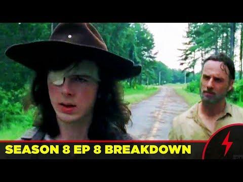 Walking Dead - WHAT HAPPENED TO CARL? - 8x08 MID SEASON FINALE Breakdown