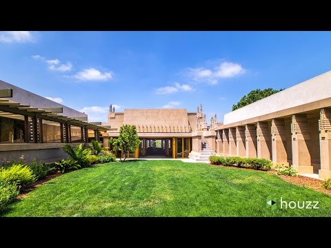 Stunning Video Inside and Outside the Frank-Lloyd-Wright-Designed Hollyhock House