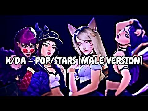 K/DA - POP/STARS(ft Madison Beer, (G)I-DLE, Jaira Burns) [Male Version]