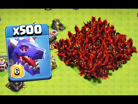 Unlimited Dragon Attack On Clash Of Clans Private Server