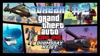 Стрим Grand Theft Auto 5 Online «Судный день» #2