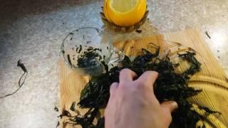 Как из любого листа сделать чай Или