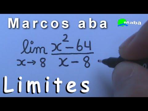 LIMITES DE UMA FUNÇÃO  -  Cálculos