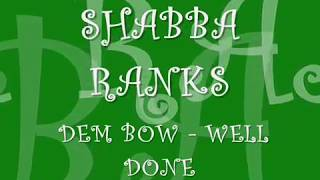 Shabba Ranks Dem Bow Well Done.mp3