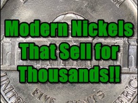 Hair Raising Auction Sale - 1983 Jefferson Nickel Sells for $5906!  Is it Even Reasonable?!?!