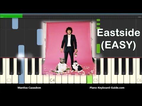 Benny Blanco, Halsey & Khalid Eastside Easy Piano Tutorial