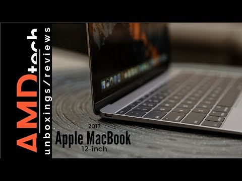 The New Apple MacBook 12-inch (2017): Unboxing & Review