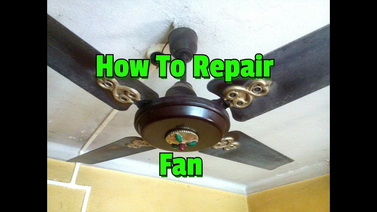 Solve Some Common Ceiling Fan Problems