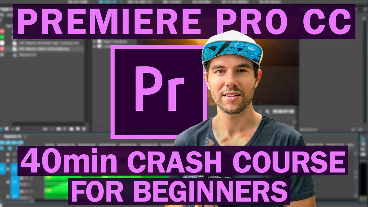 Premiere Pro CC Video Editing For Beginners Course