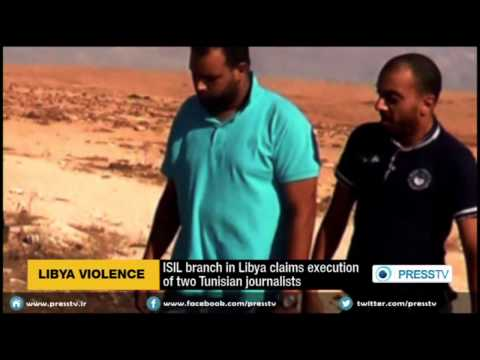ISIL Branch In Libya Claims Execution Of Two Tunisian Journalists