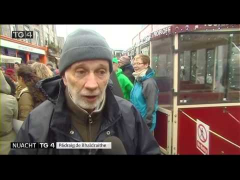 Nuacht TG4 report on 'Galway Carnival for the Climate'