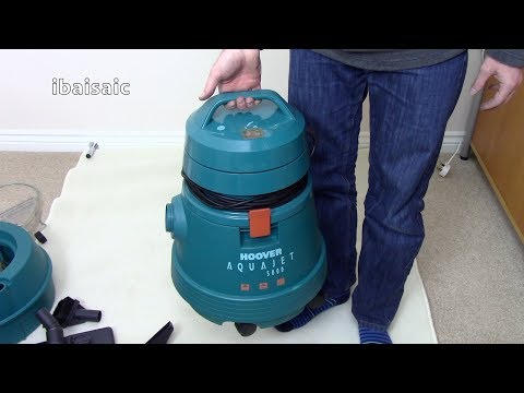 ibaisaic's Video Advent Calendar 11th December Hoover Aquajet Unboxing