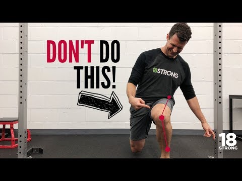 3 Things to Avoid in Your Lunge