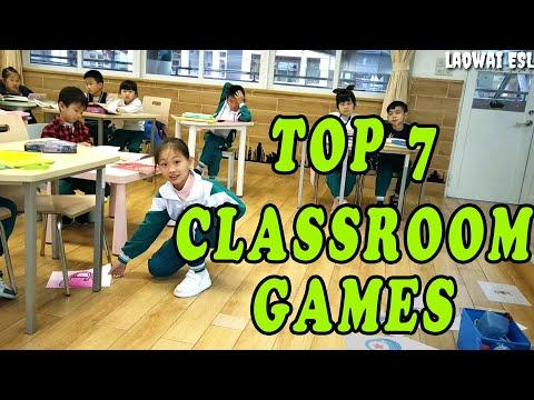 TOP 7 FUN Classroom Games [Kindergarten and primary school]