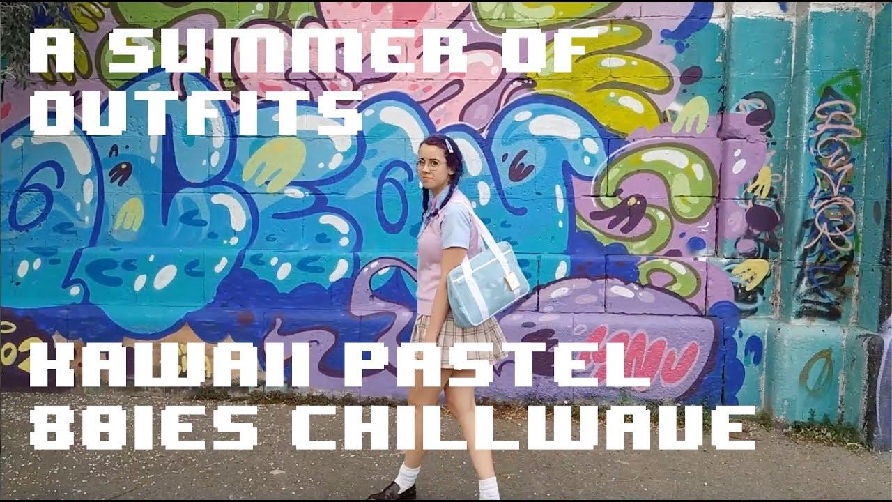 Kawaii/Pastel/Chillwave Summer Outfits 5