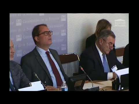 Loi de programmation militaire - Question en Commission - Stéphane Trompille (Réponse)